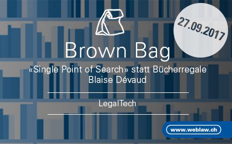 «Single Point of Search» statt Bücherregale: Die juristische Suchmaschine Lawsearch Enterprise.